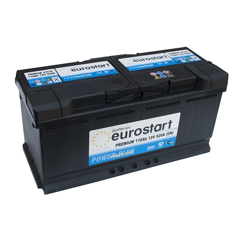 EUROSTART PREMIUM 61042 (610402092) 110Ah battery