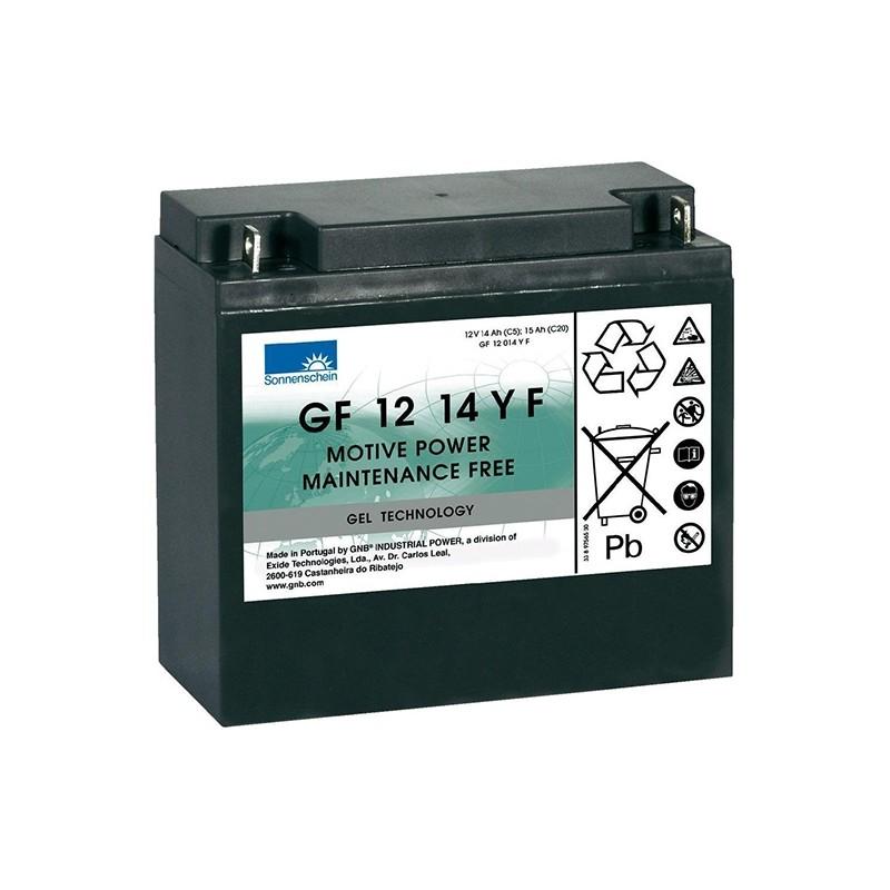 Sonnenschein (Exide) GF 12 014 Y F 15Ah akumuliatorius