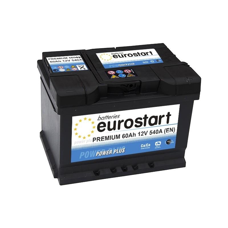 EUROSTART PREMIUM 56049 (560409054) 60Ah akumuliatorius