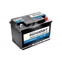 EUROSTART PREMIUM 57249 (572409068) 72Ah battery