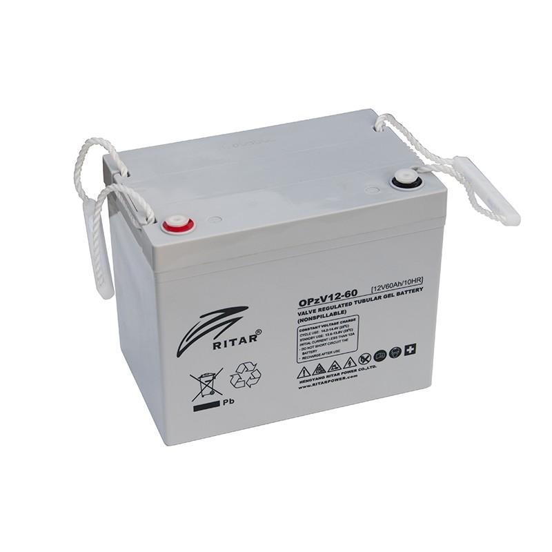 RITAR OPzV 12V 60Ah GEL VRLA battery