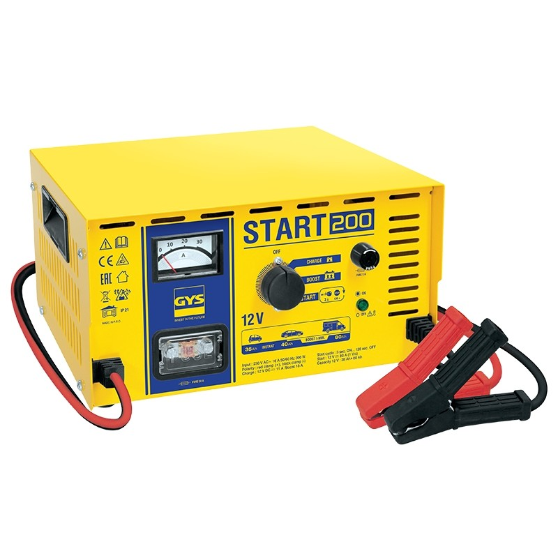 Automatic starter and charger GYS-START-200