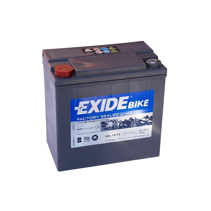 EXIDE GEL G14 14Ah battery