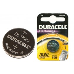 DURACELL CR1620 ELECTRONICS battery for remote control