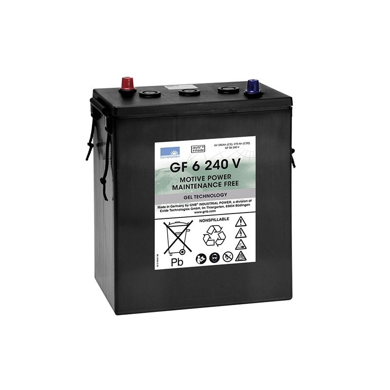 Sonnenschein (Exide) GF06 240 V 6V 270Ah battery
