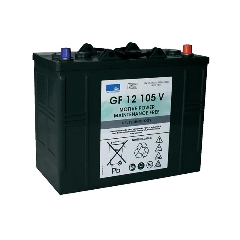 Sonnenschein (Exide) GF12 105 V 120Ah akumuliatorius