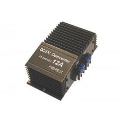 Įtampos keitiklis FOREX-24V/12V 12A + vienodintuvas