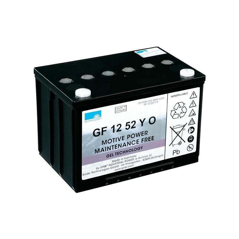 Sonnenschein (Exide) GF12 052 Y O 60Ah akumuliatorius