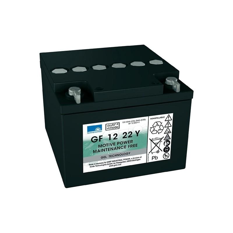 Sonnenschein (Exide) GF12 022 Y F 24Ah akumuliatorius