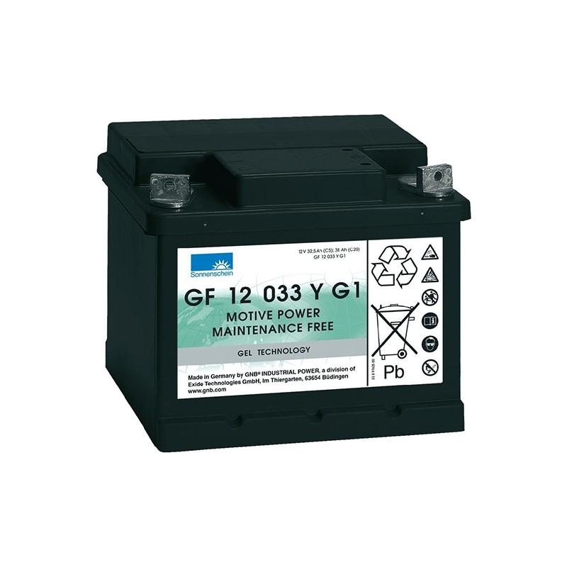 Sonnenschein (Exide) GF12 033 Y G1/G2 38Ah battery