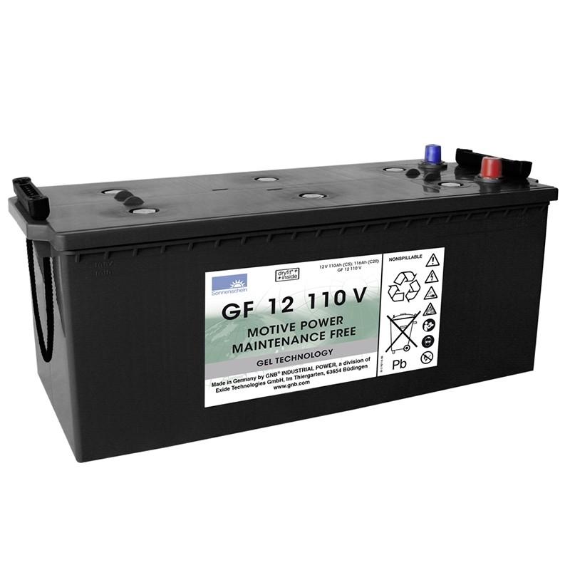 Sonnenschein (Exide) GF12 110 V A 120Ah akumuliatorius