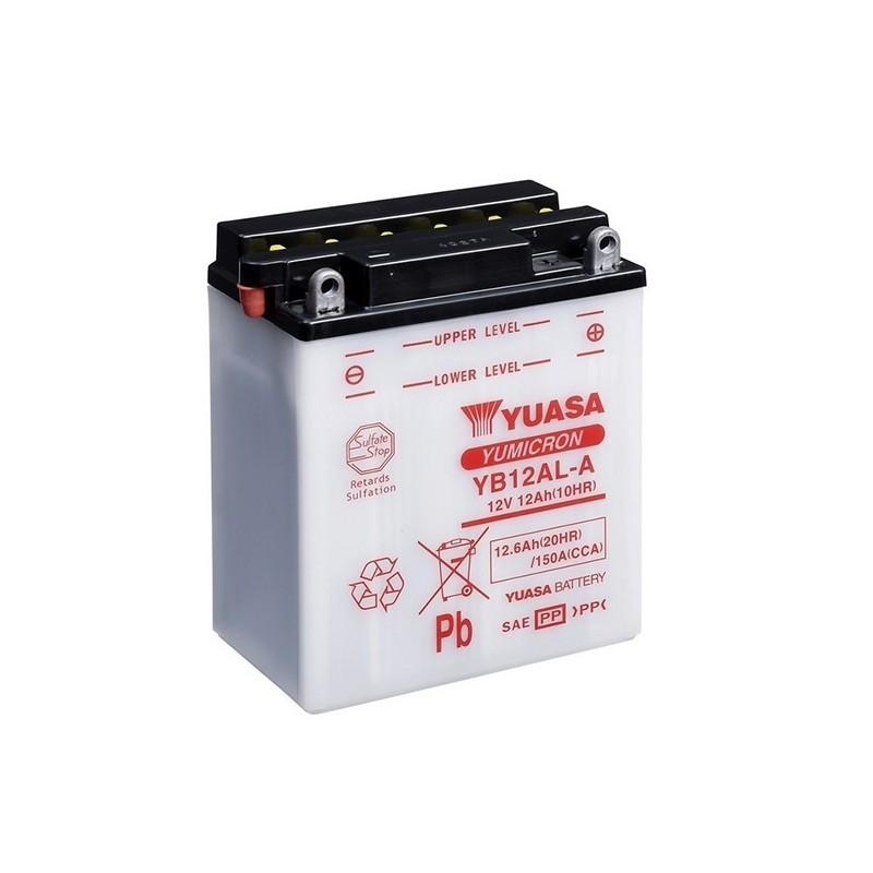 YUASA YB12AL-A (51213) 12.6Ah (C20) battery