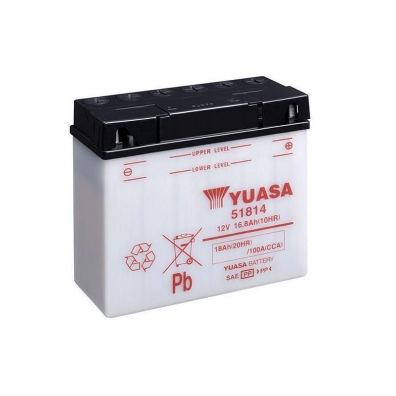 YUASA 51814 18Ah (C20) battery