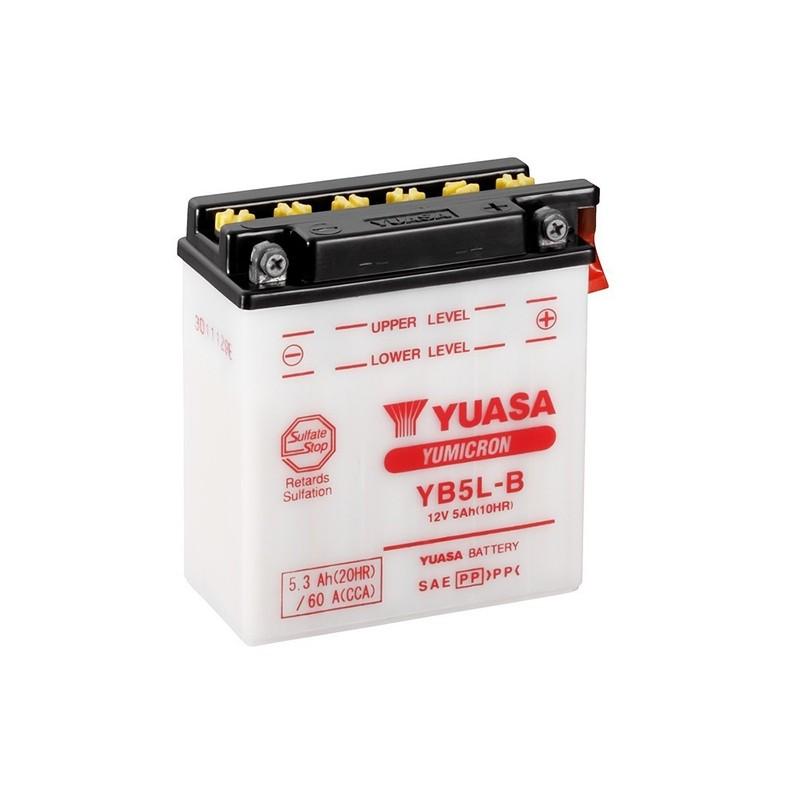YUASA YB5L-B (50512) 5.3Ah (C20) battery