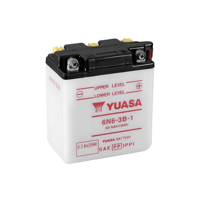 YUASA 6N6-3B-1 (00612) 6.3Ah (C20) akumuliatorius