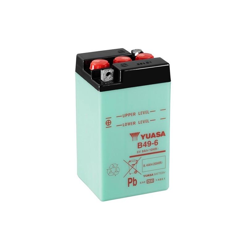YUASA B49-6 8.4Ah (C20) akumuliatorius