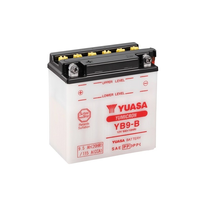 YUASA YB9-B (50914) 9.5Ah (C20) battery
