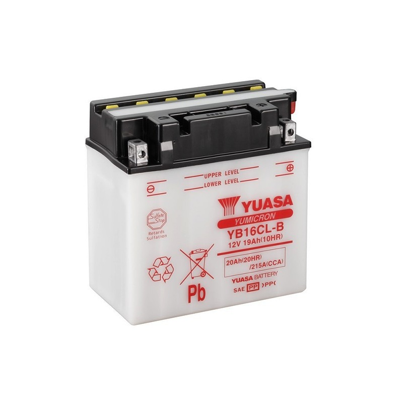 YUASA YB16CL-B (51914) 20Ah (C20) battery
