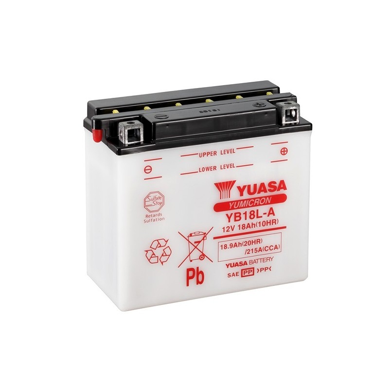 YUASA YB18L-A (51815) 18.9Ah (C20) battery