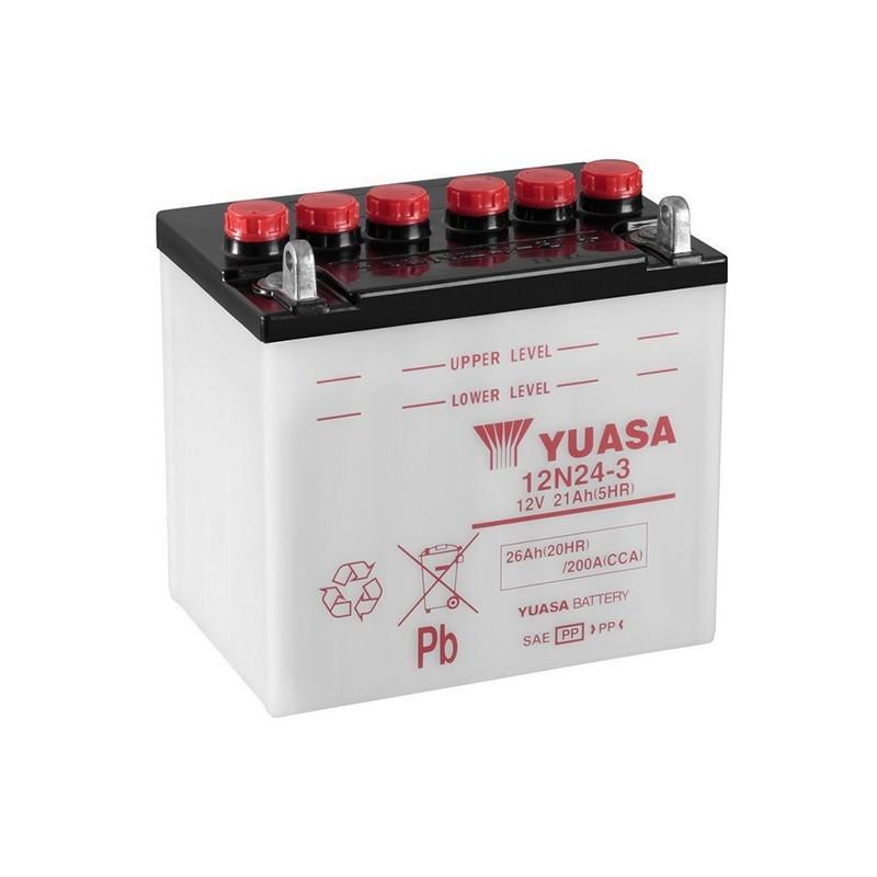 YUASA 12N24-3 (52815) 25.3Ah (C20) battery