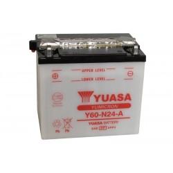 YUASA Y60-N24-A 29.5Ah (C20) akumuliatorius