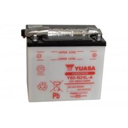 YUASA Y60-N24L-A 29.5Ah (C20) akumuliatorius