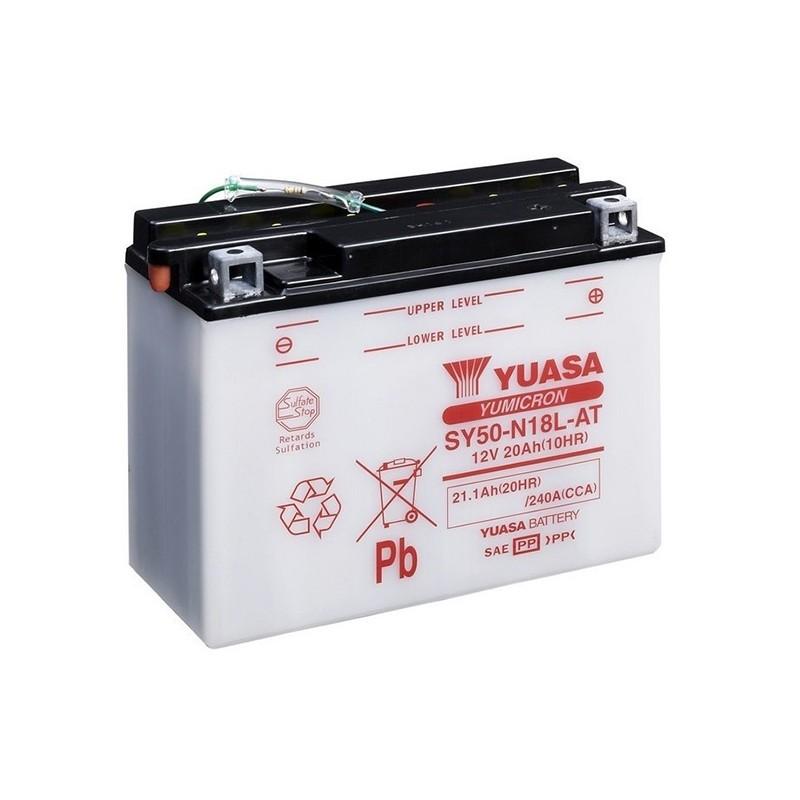 YUASA SY50-N18L-AT 21.1Ah (C20) battery