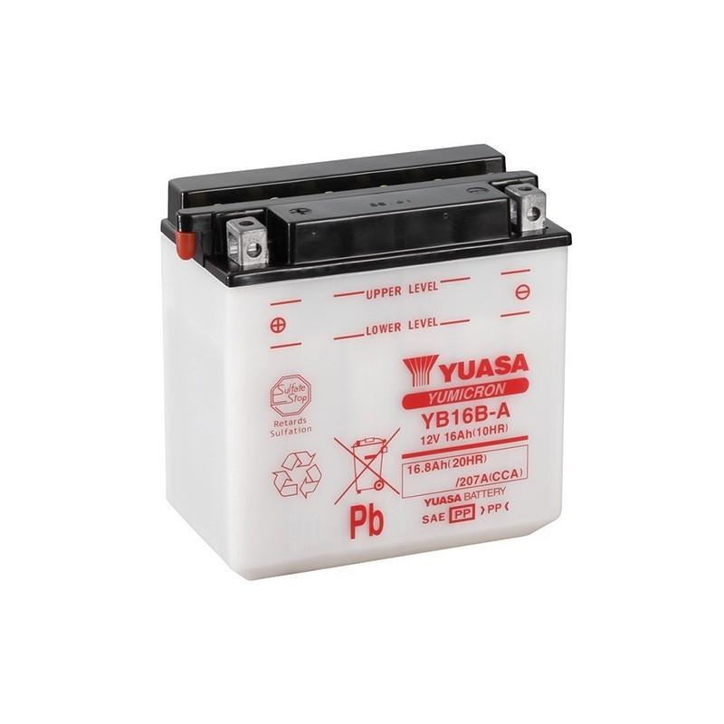 YUASA YB16B-A (51615) 16.8Ah (C20) akumuliatorius