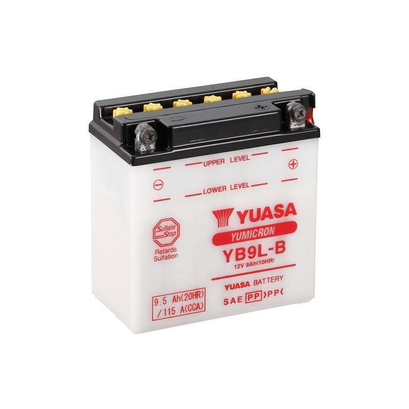 YUASA YB9L-B (50915) 9.5Ah (C20) battery