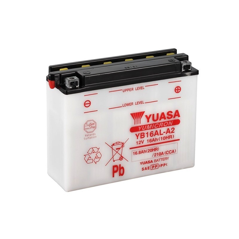 YUASA YB16AL-A2 (51616) 16.8Ah (C20) battery