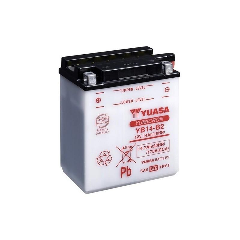 YUASA YB14-B2 (51414) 14.7Ah (C20) battery