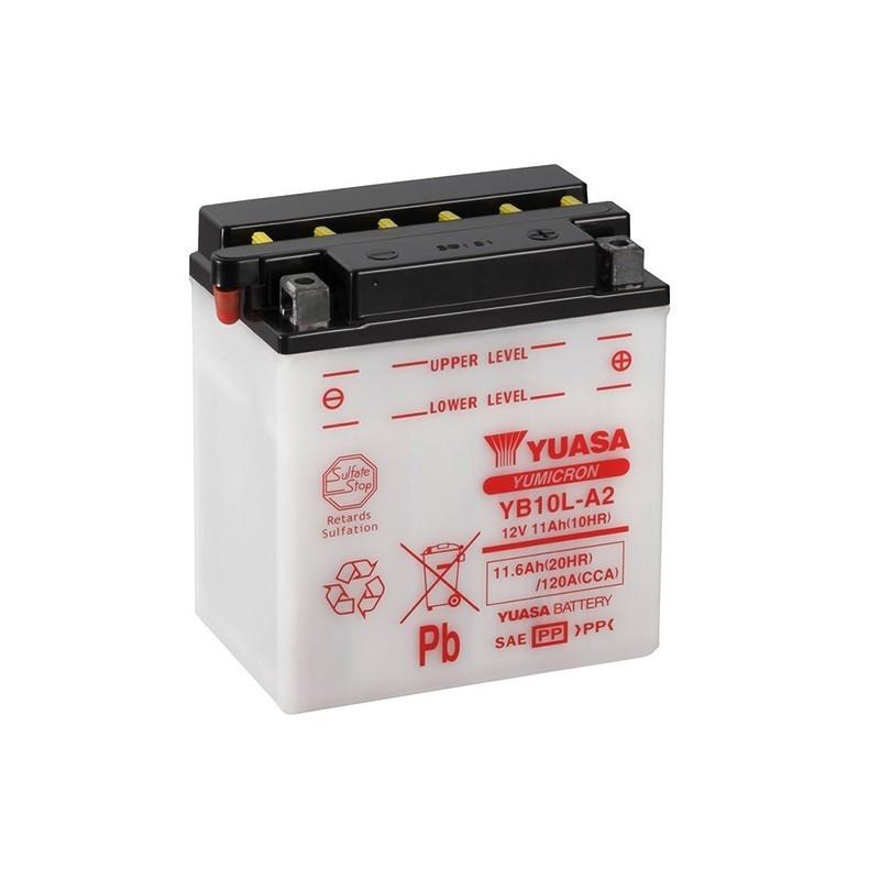 YUASA YB10L-A2 (51112) 11.6Ah (C20) akumuliatorius