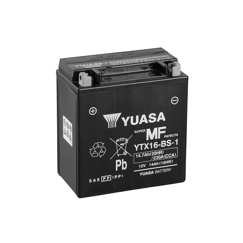 YUASA YTX16-BS-1 (51401) 14.7Ah (C20) akumuliatorius