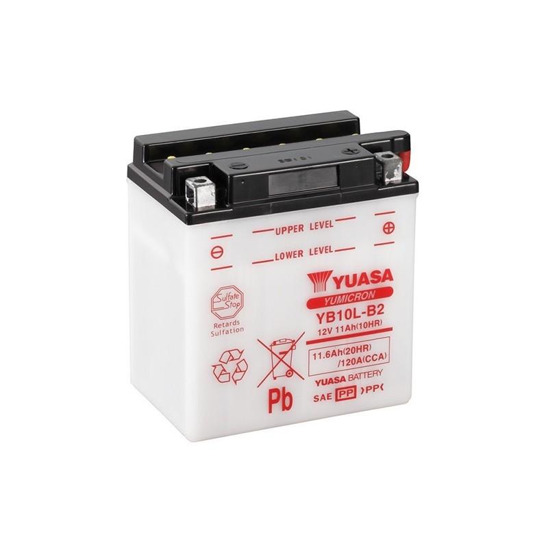 YUASA YB10L-B2 (51113) 11.6Ah (C20) battery