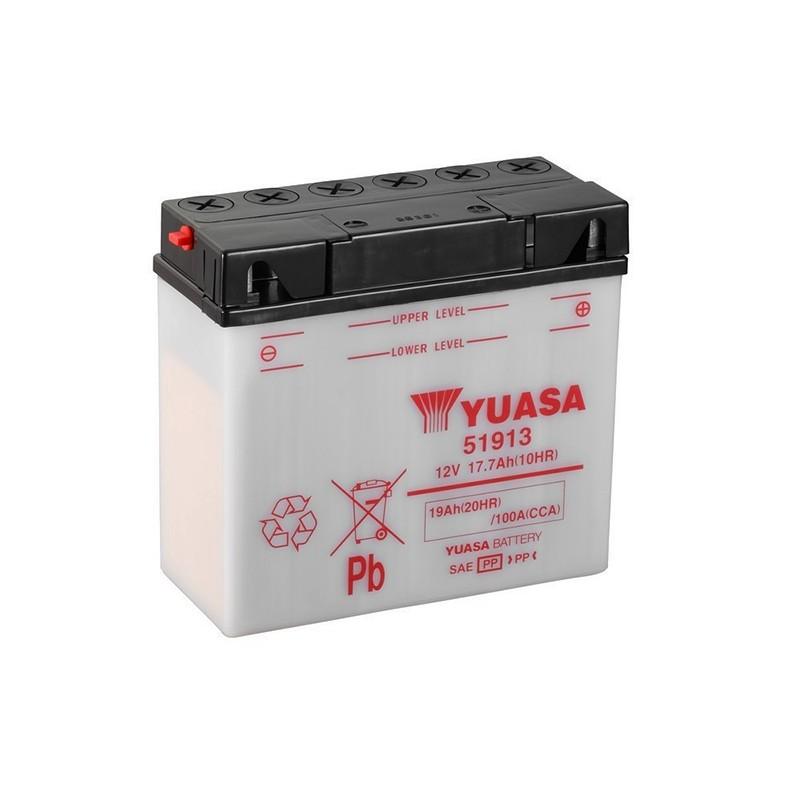 YUASA 12N19AH (51913) 19Ah (C20) akumuliatorius