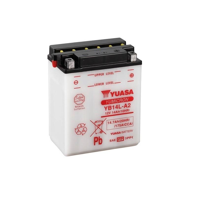 YUASA YB14L-A2 (51411) 14.7Ah (C20) akumuliatorius