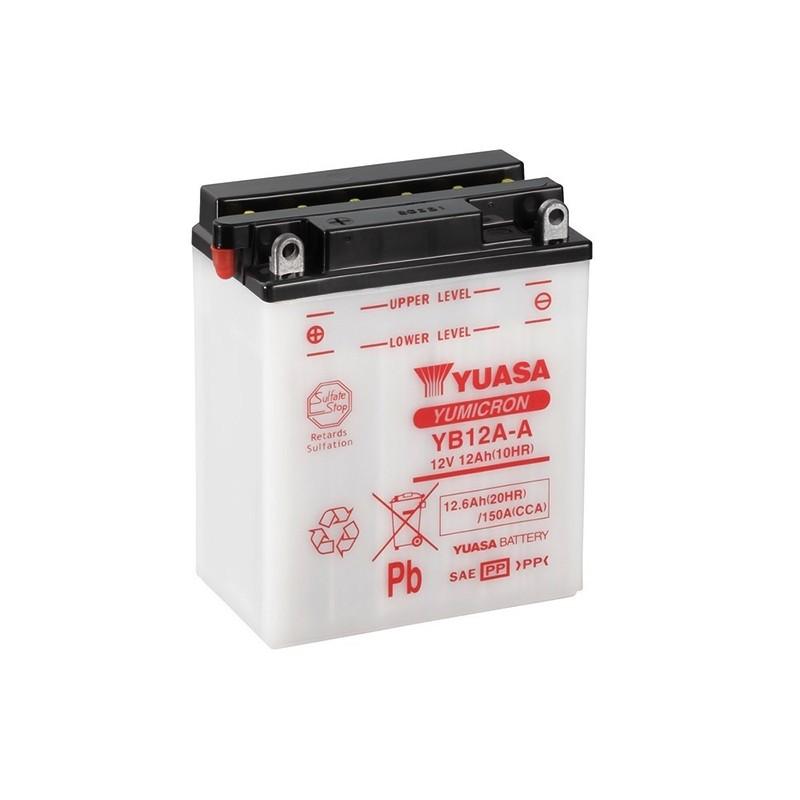 YUASA YB12A-A (51211) 12.6Ah (C20) battery