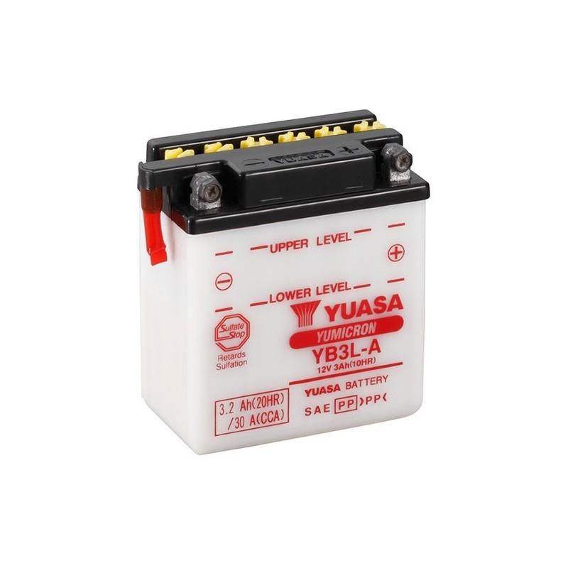 YUASA YB3L-A (50312) 3.2Ah (C20) battery