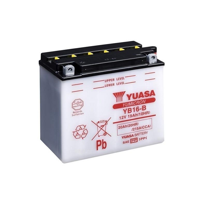 YUASA YB16-B (51912) 20Ah (C20) akumuliatorius