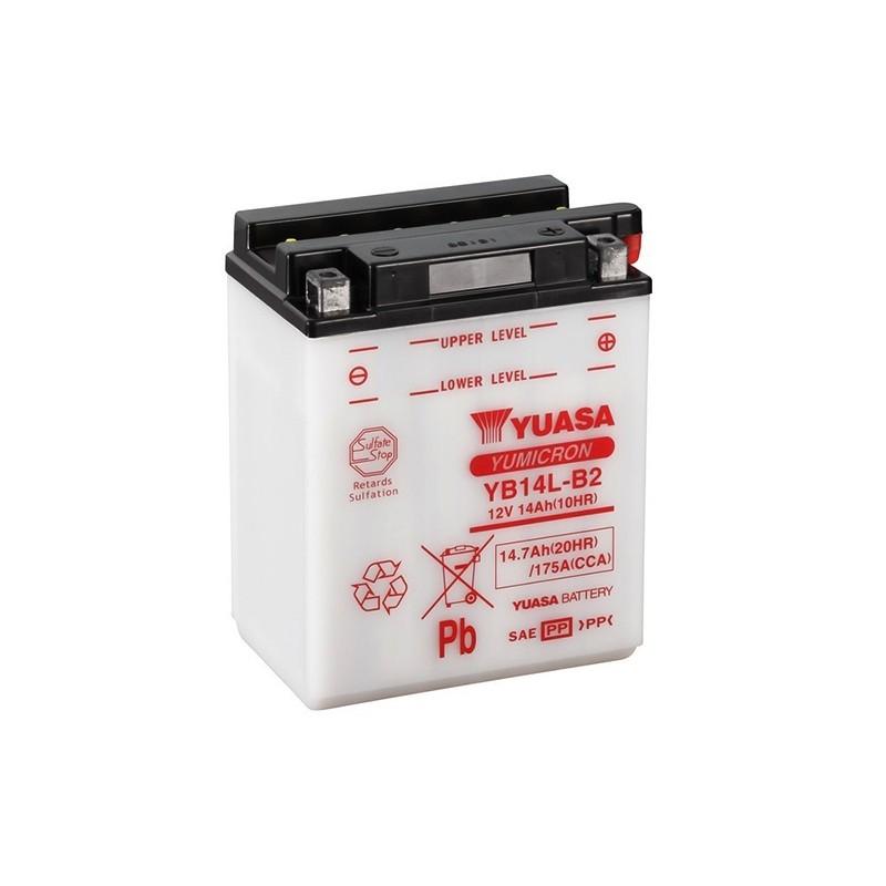 YUASA YB14L-B2 (51413) 14.7Ah (C20) battery