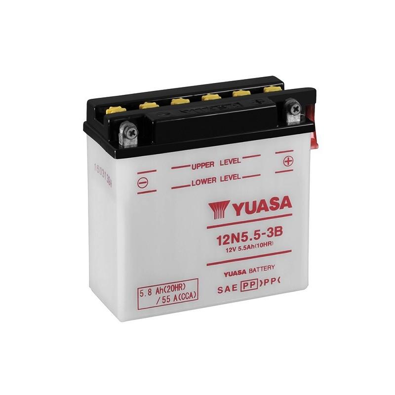 YUASA 12N5.5-3B (50611) 5.8Ah (C20) akumuliatorius