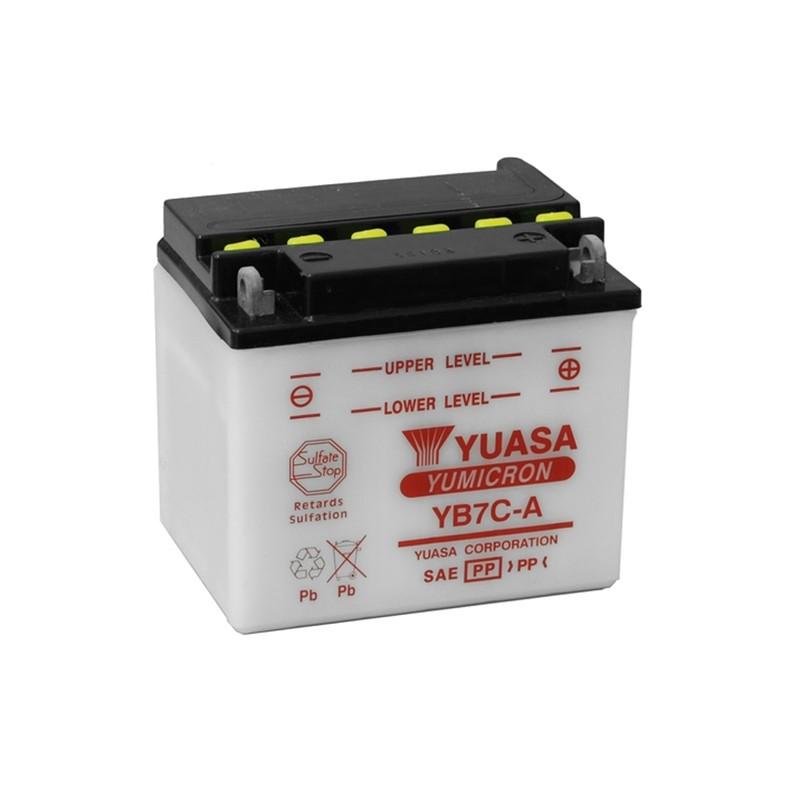 YUASA YB7C-A 7.4Ah (C20) akumuliatorius