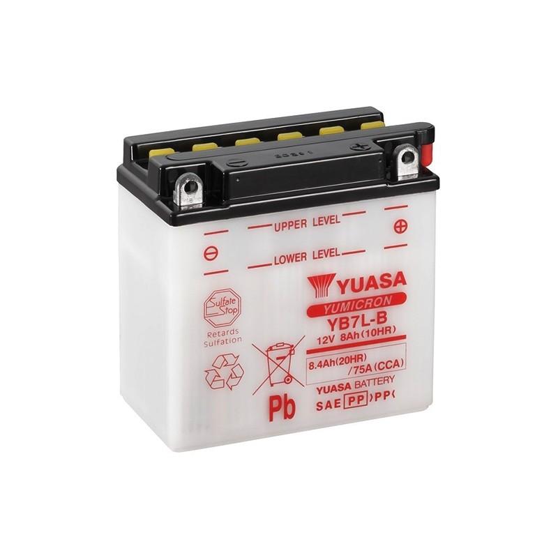 YUASA YB7L-B 8.4Ah (C20) akumuliatorius