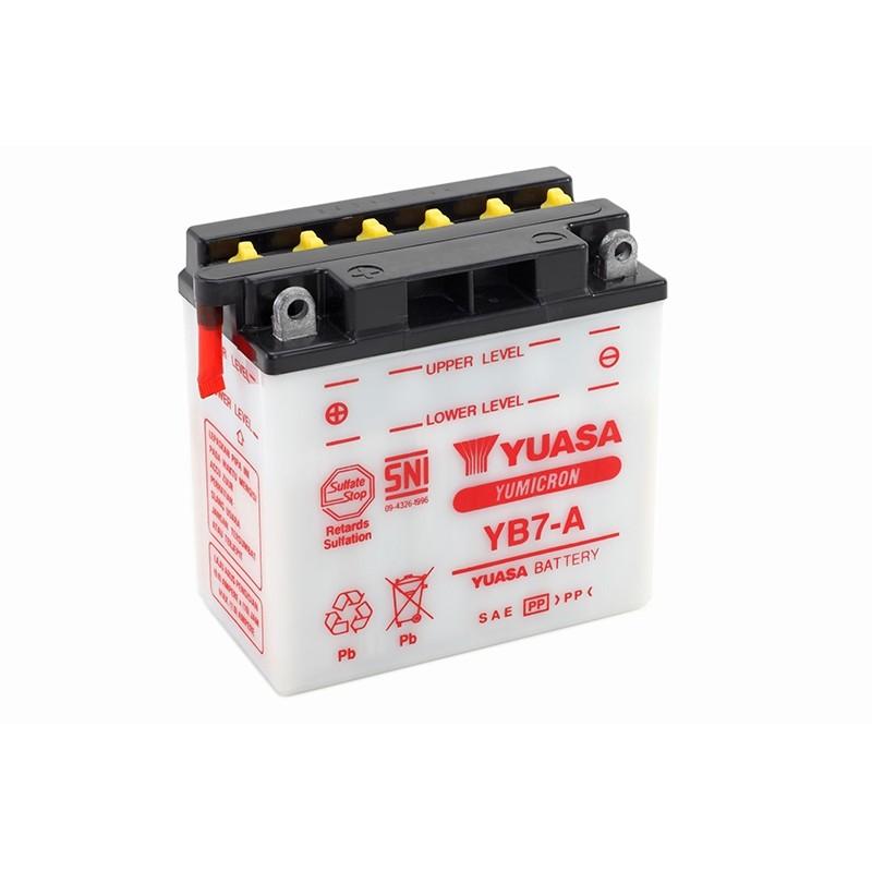 YUASA YB7-A 8.4Ah (C20) akumuliatorius