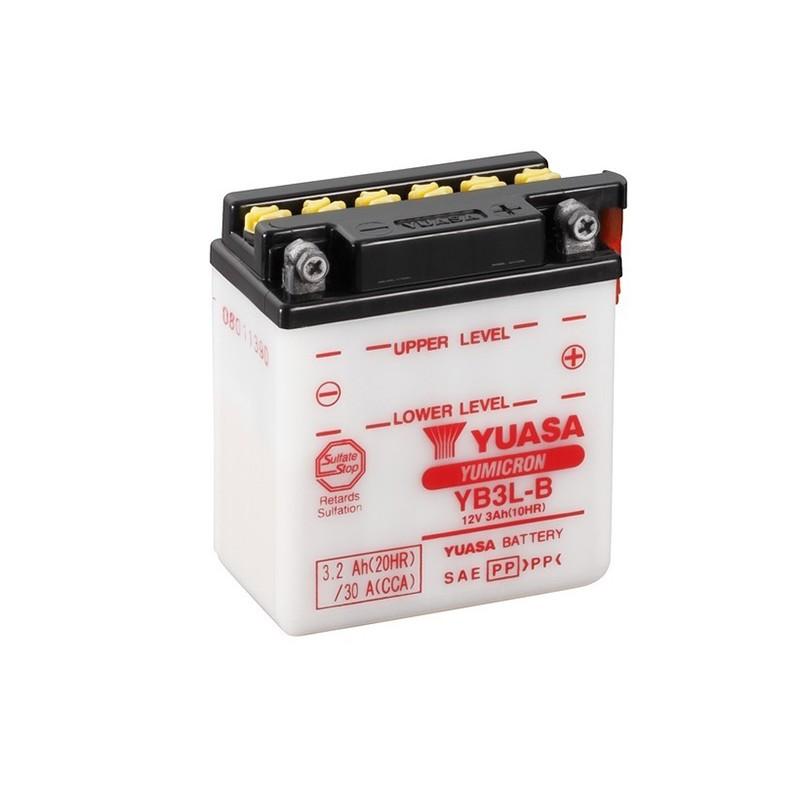 YUASA YB3L-B (50313) 3.2Ah (C20) battery