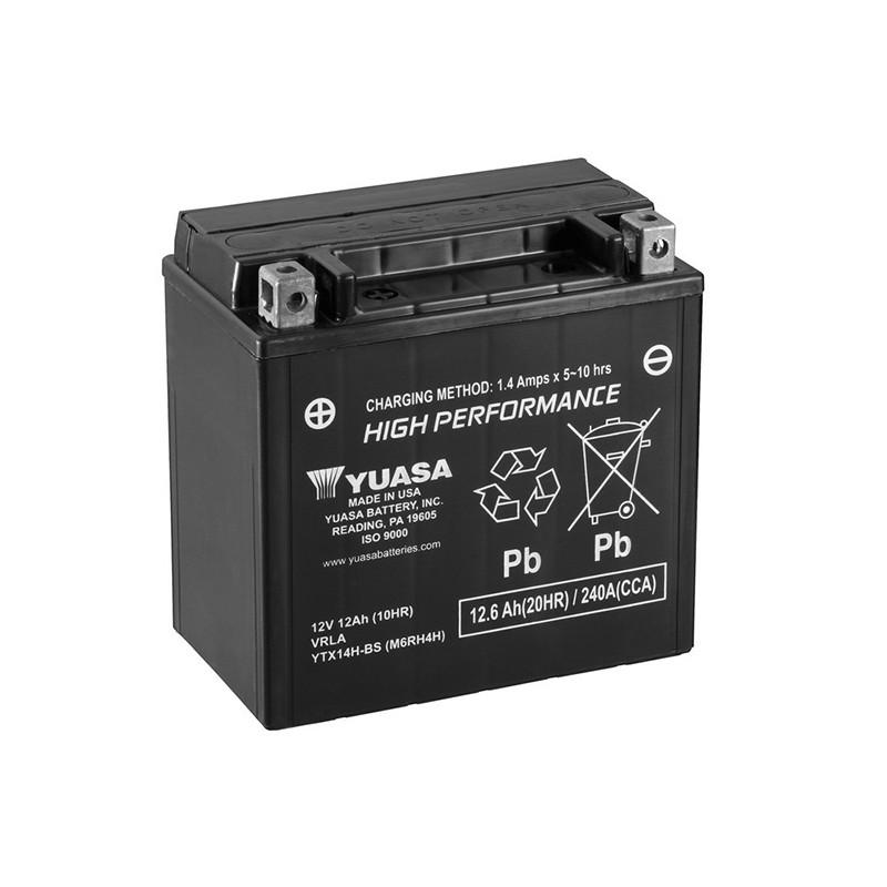 YUASA YTX14H-BS 12.6Ah (C20) akumuliatorius
