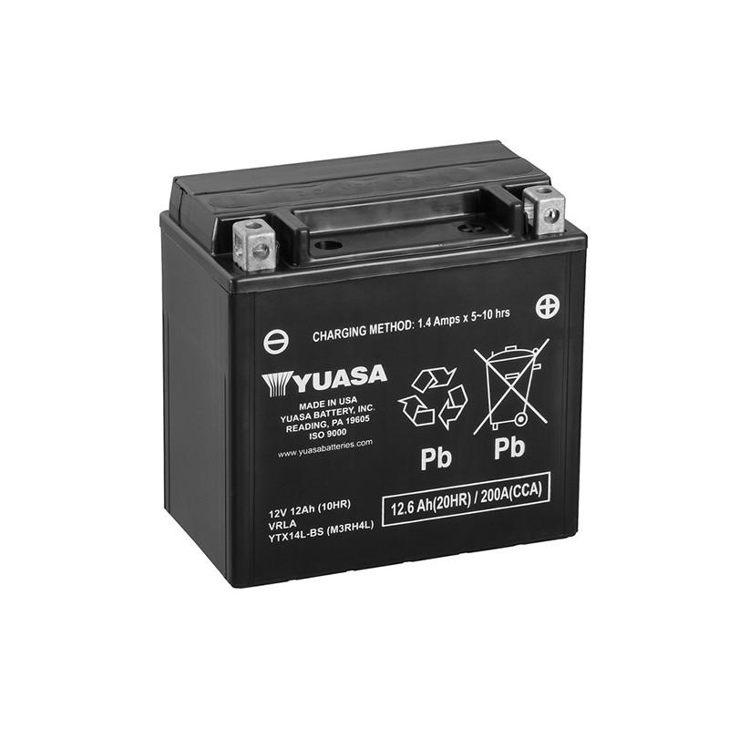 YUASA YTX14L-BS 12.6Ah (C20) akumuliatorius