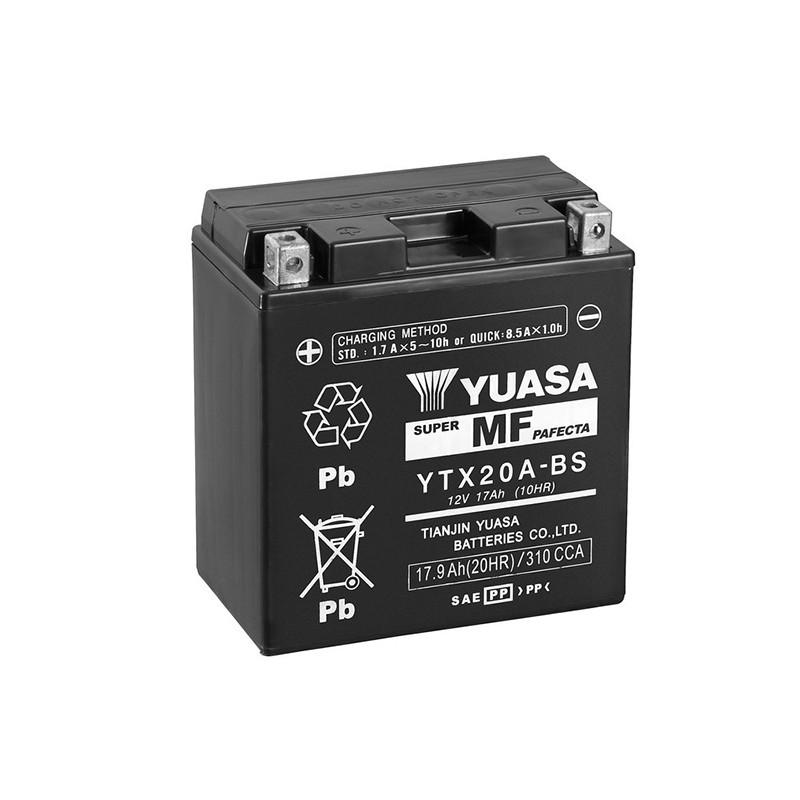 YUASA YTX20A-BS 17.9Ah (C20) akumuliatorius