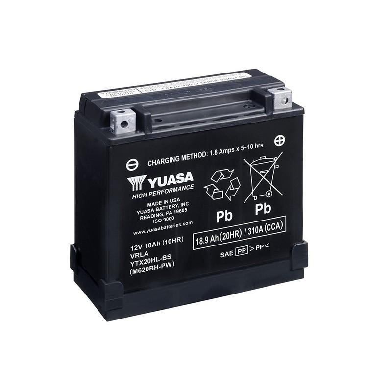 YUASA YTX20HL-BS-PW 18.9Ah (C20) akumuliatorius