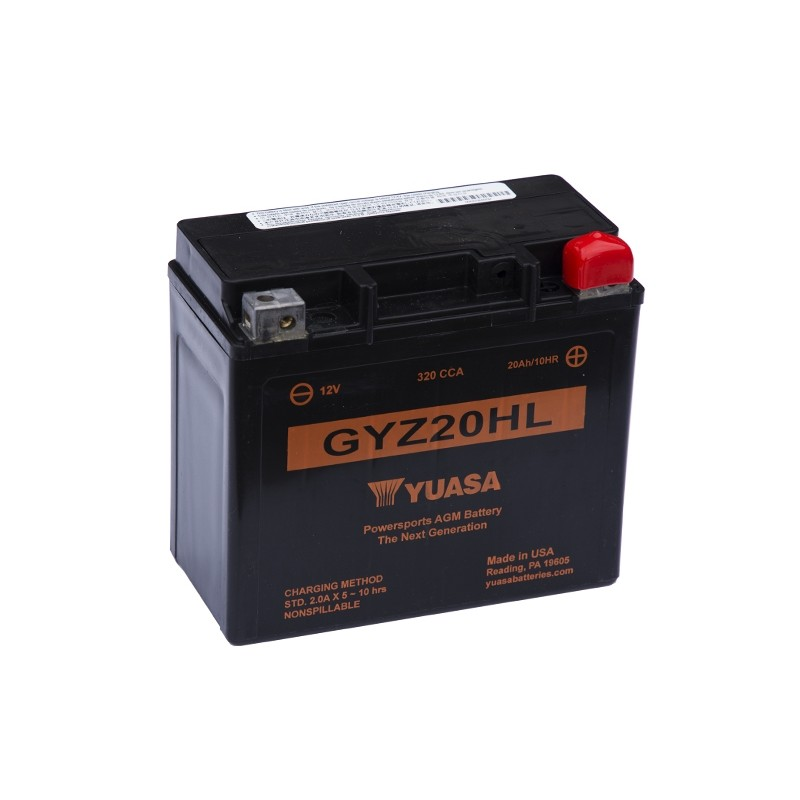 YUASA GYZ20HL 21.1Ah (C20) battery